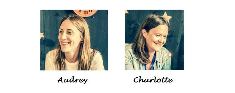 Audrey et Charlotte