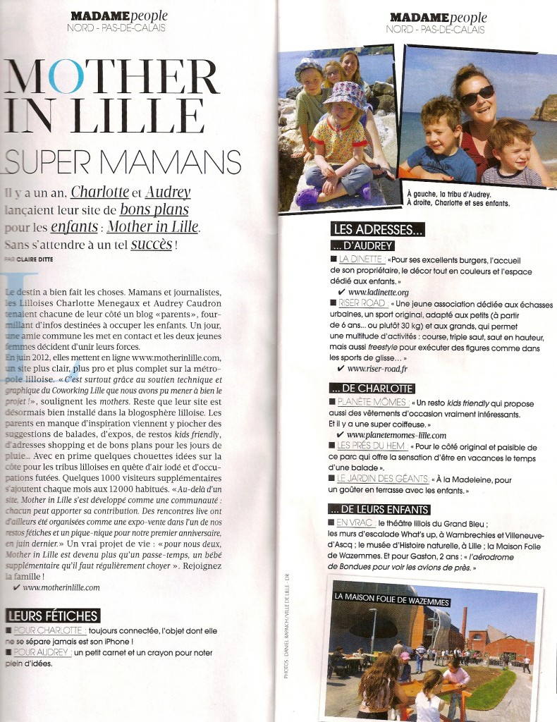 Article Figaro Madame