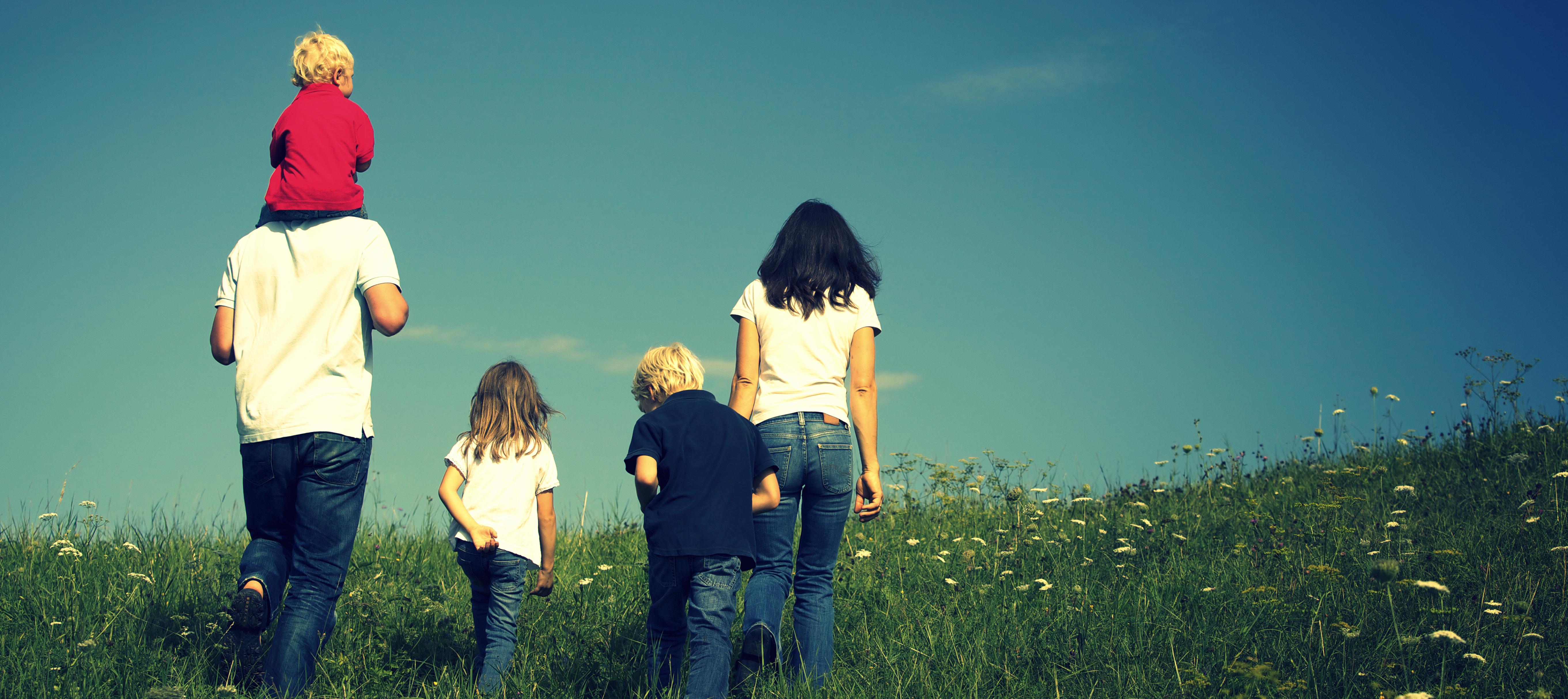 famille en voyage
