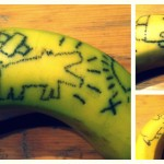 tatouages sur banane