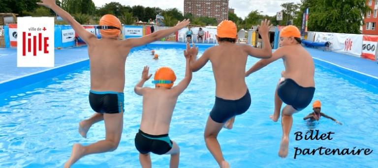 Banniere piscine ete a Lille